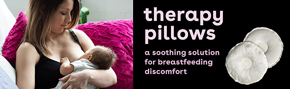 bamboobies therapy pillows nursing pads relief comfort soothing maternity