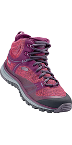 women's terradora mid height hiking shoe waterproof comfortable durable