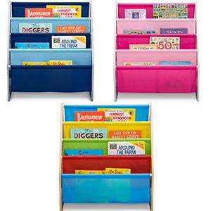 delta children sling book rack bookshelf kids toddler
