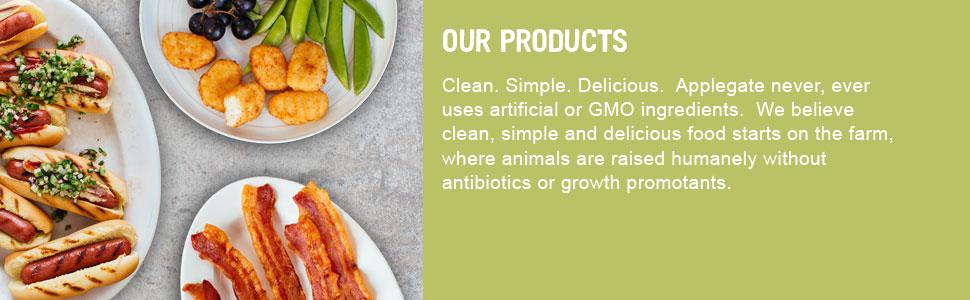 Applegate Farms Breaded Chicken Strips Tenders Nuggets Organic Natural non GMO abf no nitrites