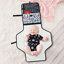 baby changing mat, changing mat portable, travel changing mat, changing mat for diaper bag
