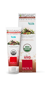 radius non toxic toothbrushes toothpaste organic made in usa floss vegan biodegradable women owned