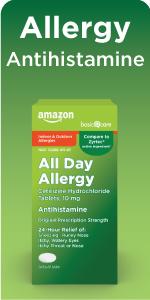 all day allergy cetirizine