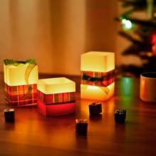 Halloween Decoration pumpkin lantern candles tealights candles tea lights