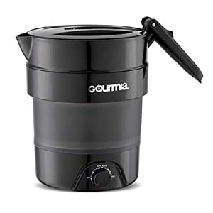 Product image of the Collapsible Travel Kettle from Gourmia.
