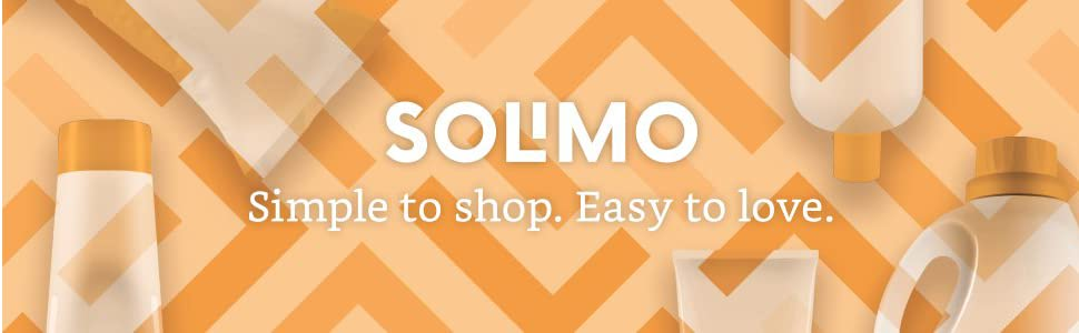 Solimo. Simple to shop. Easy to love.