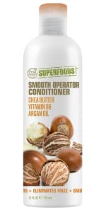 superfoods, shea butter, soft hair, silky smooth