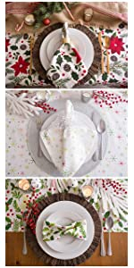 christmas party favors; office christmas party; christmas party plates; christmas party décor