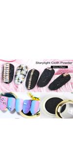 Glitter Nail Powder Set
