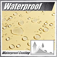 colourtree waterproof sun shade sail canopy