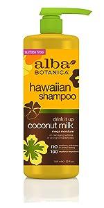 Hawaiian Drink-It-Up Coconut Milk Shampoo