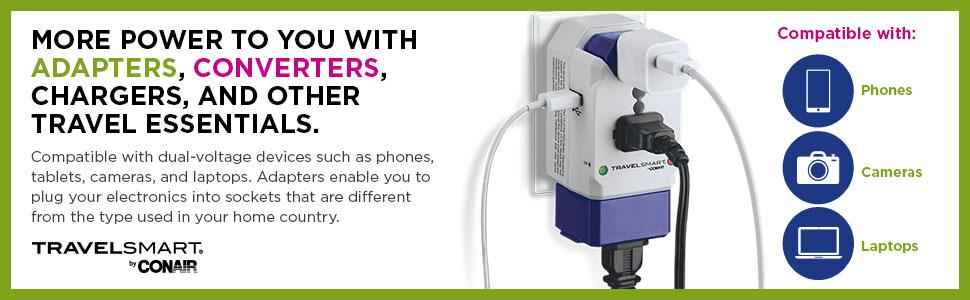 Conair Travel Smart Power Converters