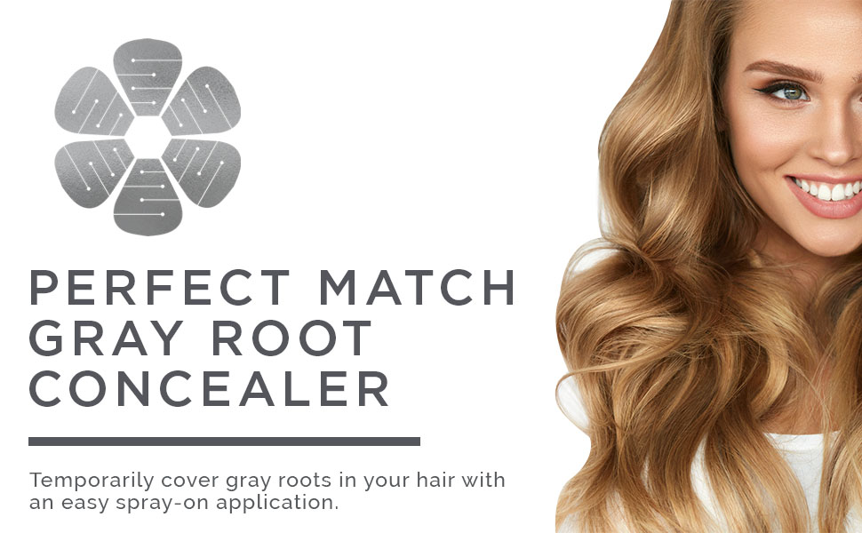 Perfect Match Gray Root Concealer