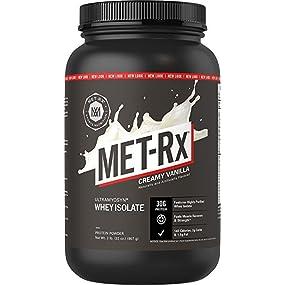 MET-Rx Ultramyosyn Whey Isolate Creamy Vanilla, 2 pound