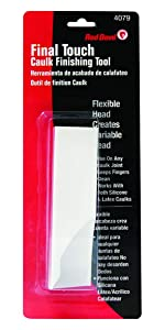 Red Devil 4079 Final Touch Caulk Finishing Tool