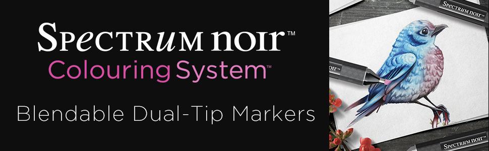 spectrum noir blendable dual tip markers