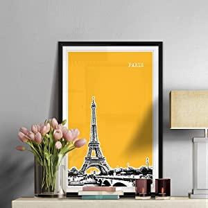 paris, skyline, cityscape