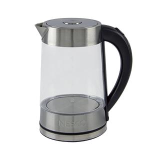 glass, water, kettle, nesco