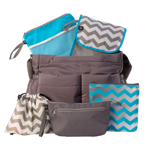 JL Childress Diaper Bag Organizer 5 Piece Set