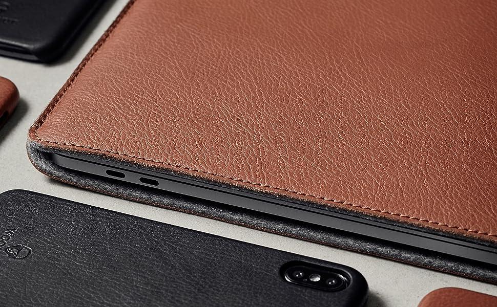 Woolnut MacBook iPad Sleeve Case Folio Apple