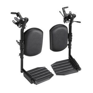 nvacare Wheelchair Elevating Legrests Composite Footplates Padded Calf Pads