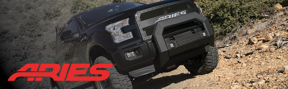 ARIES Truck Accessories Bull Bar, Push Bar
