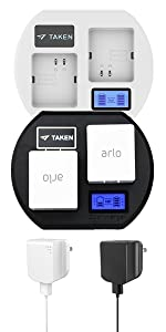 Charging Station for Arlo Pro & Pro 2 & Arlo Go & Arlo Security Ligh Batteries