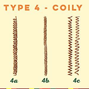 type 4 coily hair