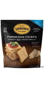 parmesan crisps gluten free snack