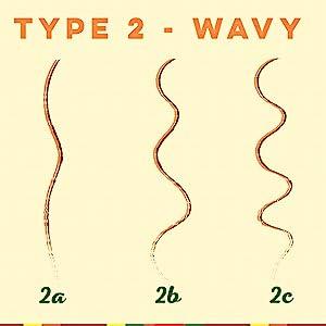 wavy type 2 hair