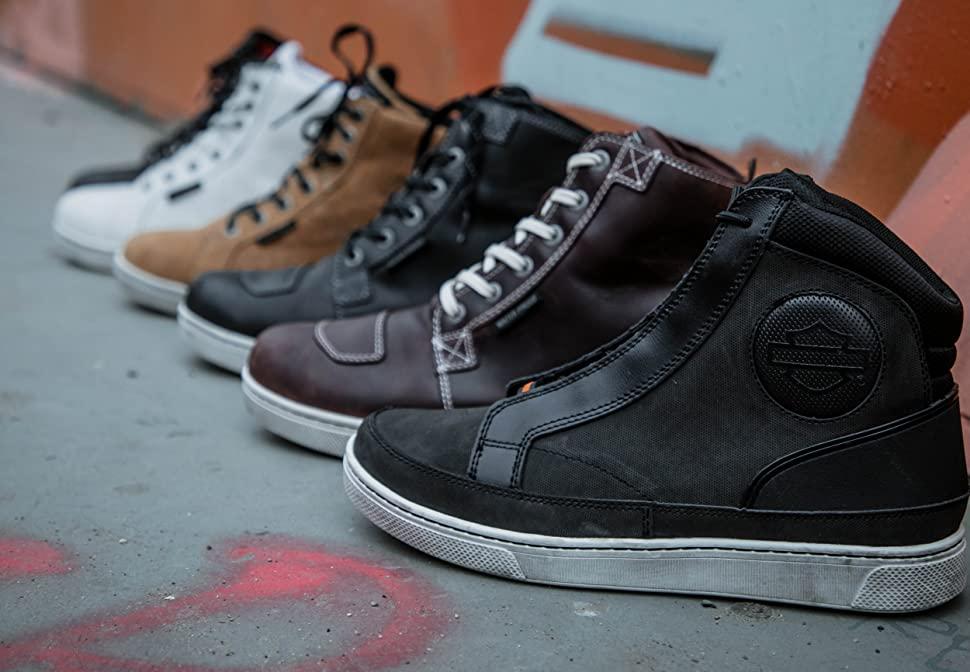 moto sneakers, urban sneakers, riding sneakers, tcx, stylemartin, vans