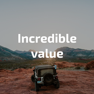 incredible value