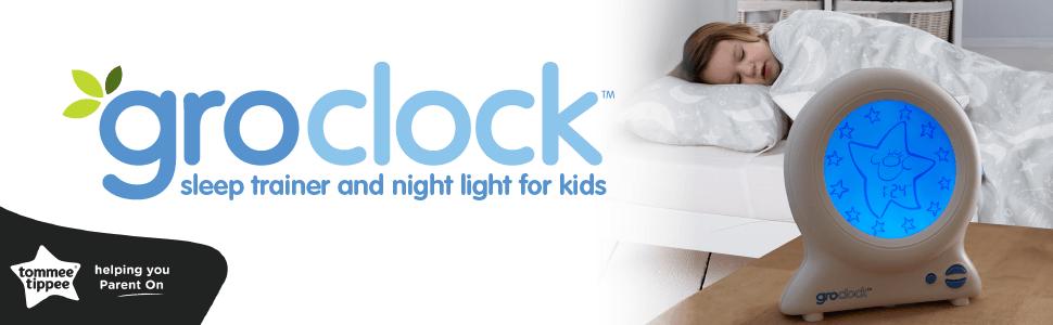 Groclock, toddler sleep trainer, sleep trainer, training alarm clock, kids alarm clock, toddler