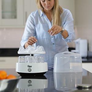 tommee tippee steriliser, bottle sterilizer, tommee tippee electric sterilizer, bottle sterilizer