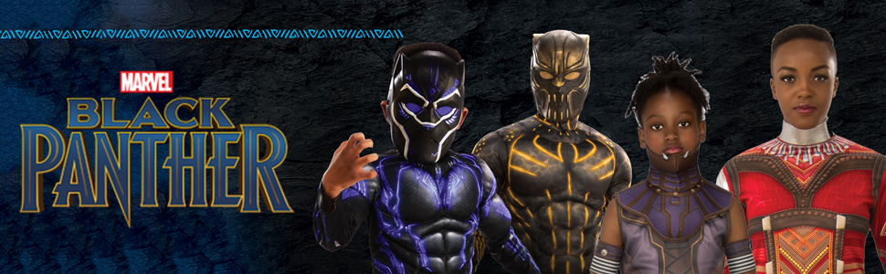 Marvel Black Panther movie banner