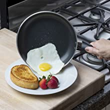 Nonstick Pan cooking egg