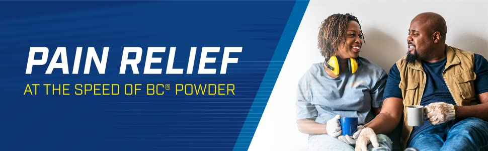 Pain Relief at the speed of BC powder