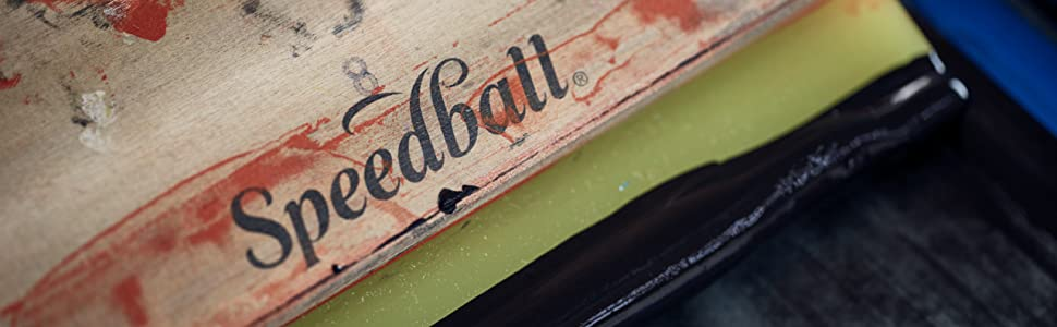 fabric ink, screen printing, speedball