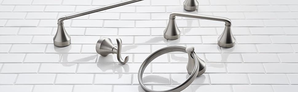 moen hamden bathroom accessories