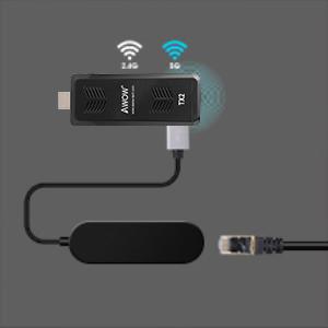 Computer stick with LAN