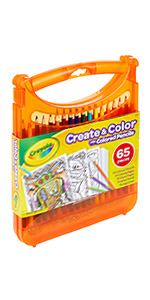 create and color case