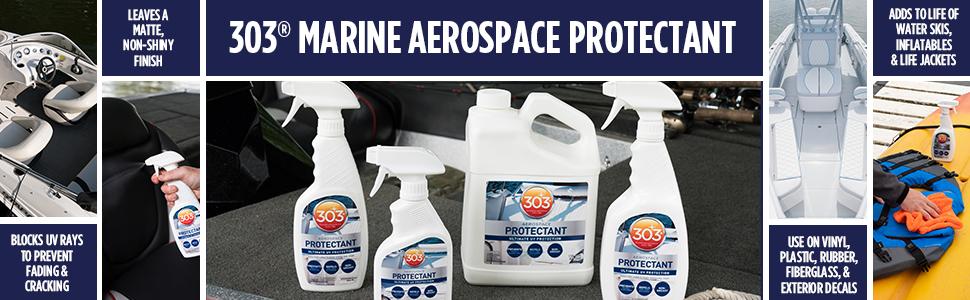 303 marine protectant boat seat vinyl rubber plastic
