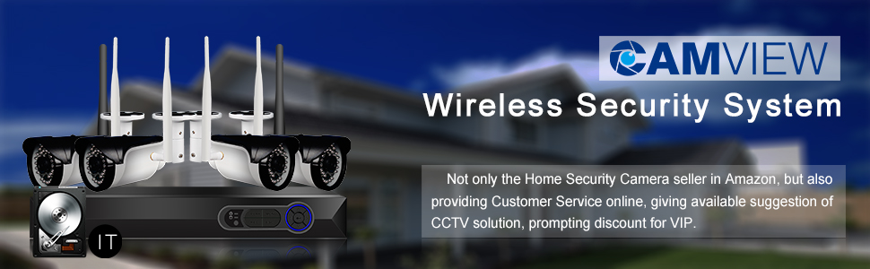Wireles Security Camera System