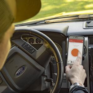 CURT Echo Mobile Electric Trailer Brake Controller Smartphone