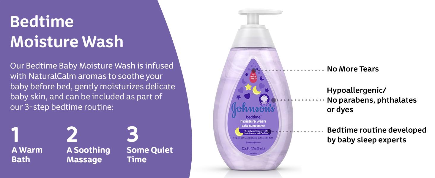 Johnson's Bedtime Moisture Wash