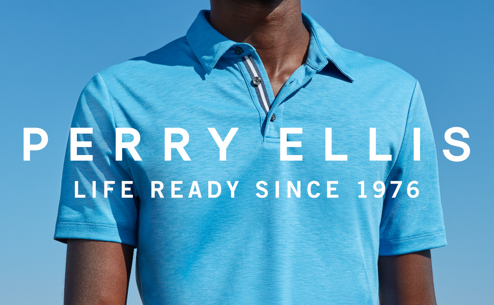 polo, perry ellis, soft touch