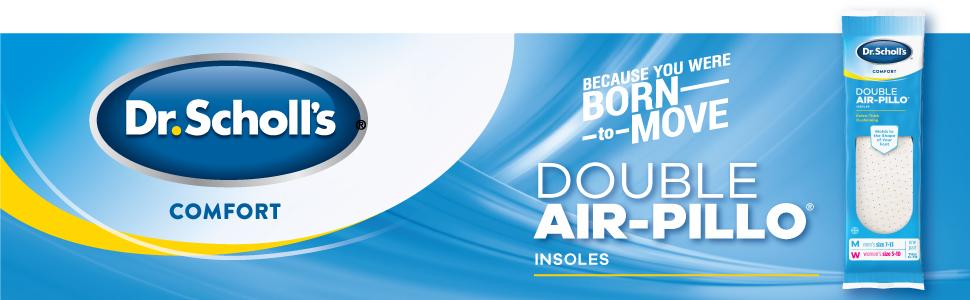 Dr. Scholl's Double Air-Pillo Insoles