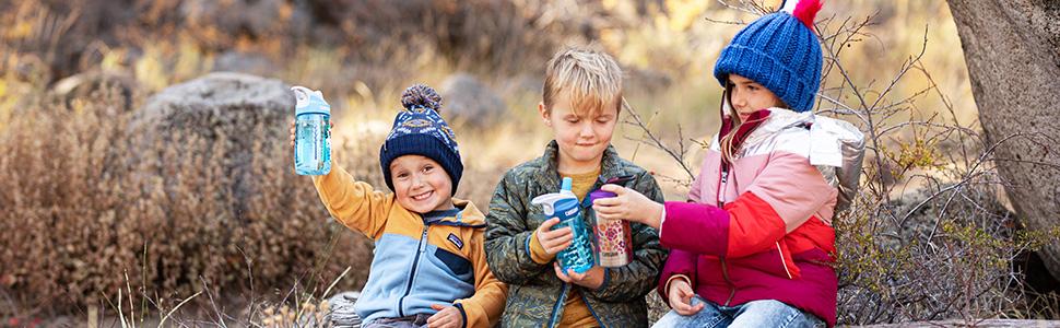 camelbak, kids water bottle, water bottle with straw, sippy cup, small water bottle, plastic bottle