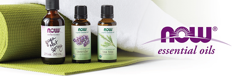 NOW Essential Oils, Natural, Pure, 100%, Aromatherapy, Difuser, Lavender, DIY, Kids, Organic