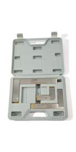 GROZ 3-Piece Machinist Steel Square Set